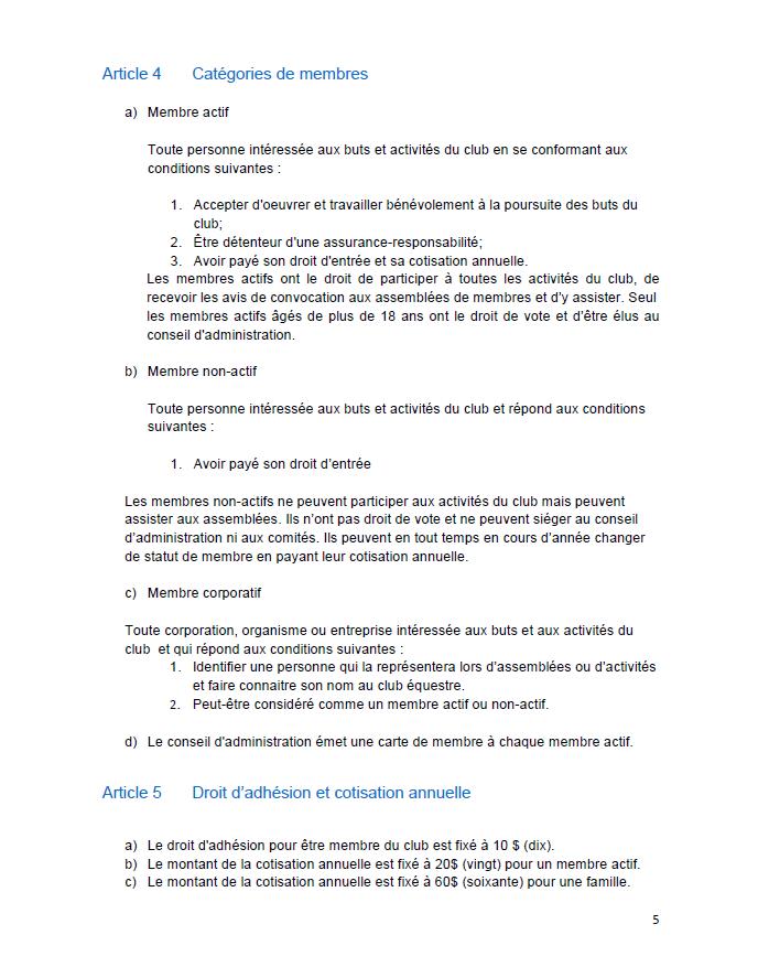 2018 Règlements généraux (5)