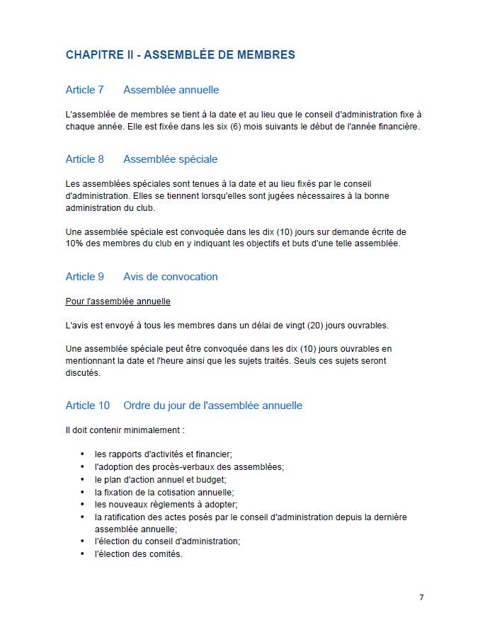 2018 Règlements généraux (7)